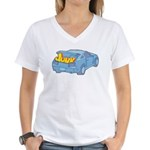 Junk in the Trunk Women's V-Neck T-Shirt