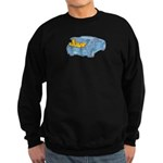 Junk in the Trunk Sweatshirt (dark)