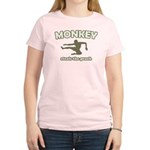 Monkey Steals The Peach Women's Light T-Shirt