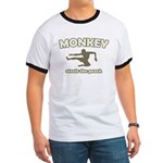 Monkey Steals The Peach Ringer T