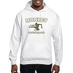 Monkey Steals The Peach Hooded Sweatshirt