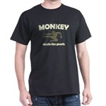 Monkey Steals The Peach Dark T-Shirt