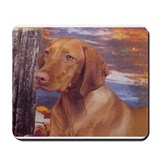Vizsla Head Study Mousepad