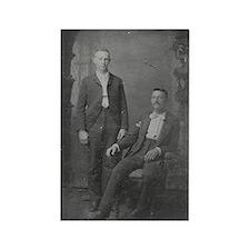 Two Gentlemen - Rectangle Magnet (10 pack)