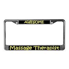 Massage Therapist License Plate Frame