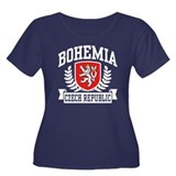 Bohemia Czech Republic Women's Plus Size Scoop Nec
