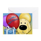 Golden Birthday Greeting Cards (Pk of 20)