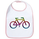 &quot;Rainbow Bike&quot; Bib