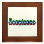 Zacatecas 1a Framed Tile