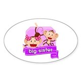 Big Sister Monkey Decal