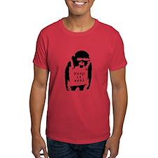 """Banksy """"Keep it real"""" T-Shirt"""