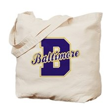 Baltimore Letter Tote Bag