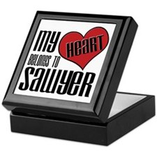 Heart Belongs To Sawyer Keepsake Box