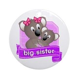 Big Sister Koala Ornament (Round)