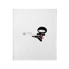 Lil Ninja Throw Blanket