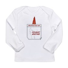 Pocket Gnome Long Sleeve Infant T-Shirt