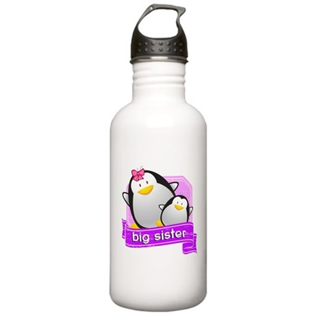 Big Sister Penguin Stainless Water Bottle 1.0L