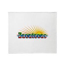 Zacatecas Sol Throw Blanket