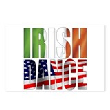 Dance Flags Postcards (Package of 8)