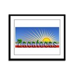 Cielo Azul de Zacatecas Framed Panel Print