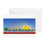Cielo Azul de Zacatecas Greeting Card