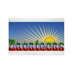 Cielo Azul de Zacatecas Rectangle Magnet (100 pack