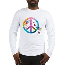 Tree Frogs 4 Peace Symbols Long Sleeve T-Shirt