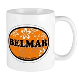 Belmar NJ - Oval Design Mug
