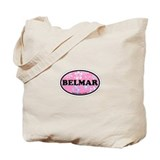 Belmar NJ - Oval Design Tote Bag