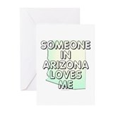 Someone in Arizona Greeting Cards (Pk of 20)