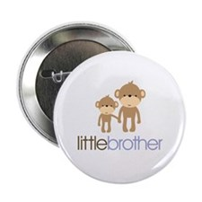 "Little Brother Monkey 2.25"" Button"