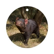 Tasmanian Devil Ornament (Round)