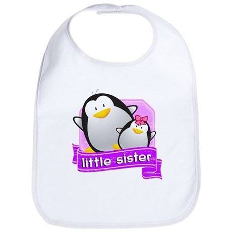 Little Sister Penguin Bib