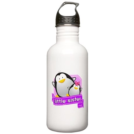 Little Sister Penguin Stainless Water Bottle 1.0L