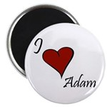 I love Adam Magnet