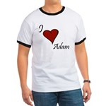 I love Adam Ringer T