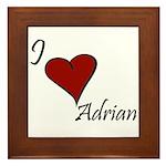 I love Adrian Framed Tile