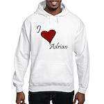 I love Adrian Hooded Sweatshirt
