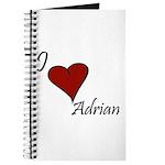 I love Adrian Journal