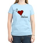 I love Adrian Women's Light T-Shirt