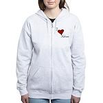 I love Adrian Women's Zip Hoodie