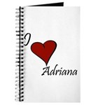 I love Adriana Journal