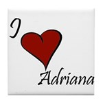I love Adriana Tile Coaster