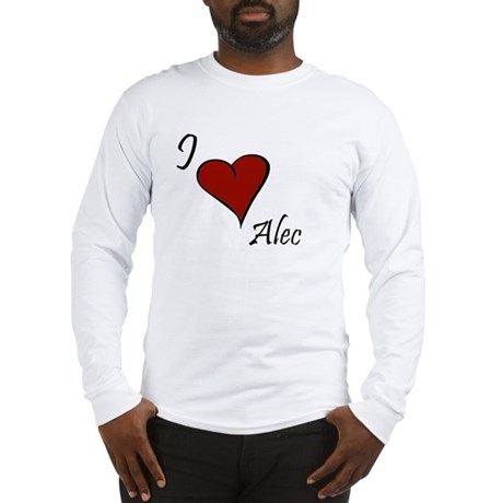 I love Alec Long Sleeve T-Shirt
