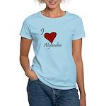 I love Alejandra Women's Light T-Shirt
