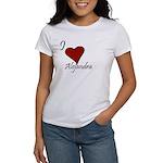 I love Alejandra Women's T-Shirt