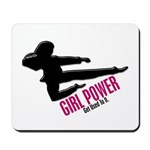Girl Power 3 Karate Mousepad