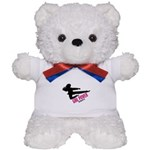 Girl Power 3 Karate Teddy Bear