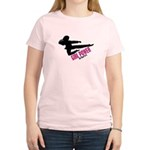 Girl Power 3 Karate Women's Light T-Shirt