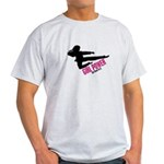 Girl Power 3 Karate Light T-Shirt